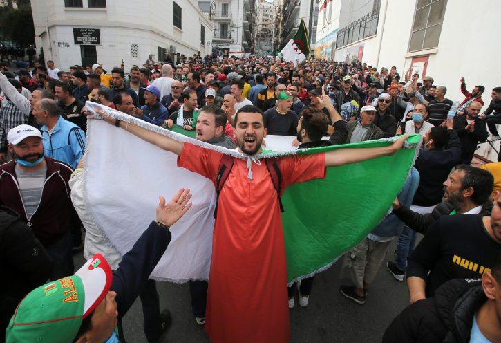 Alžir, protest