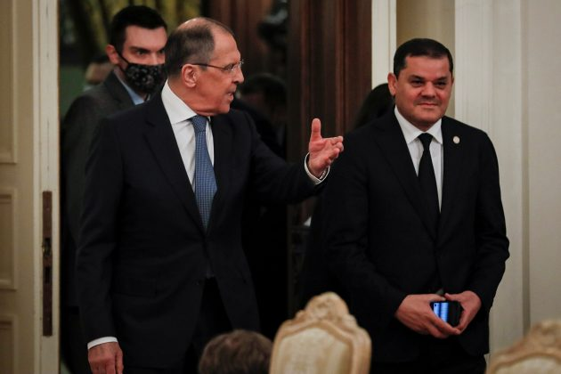 Sergej Lavrov i Abdul Hamid Dbejbah
