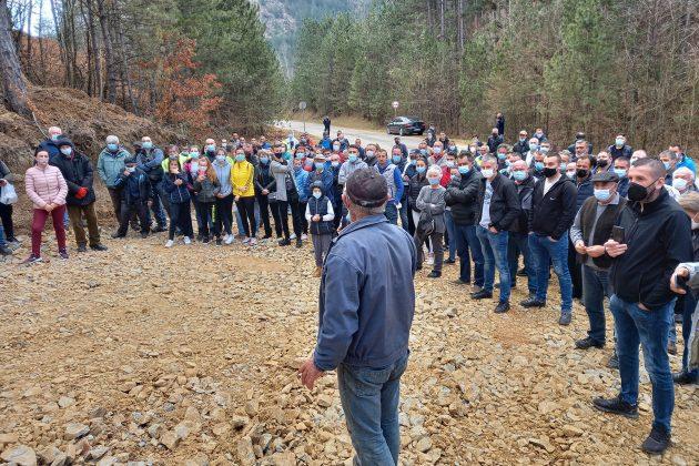 Aleksandrovac: Protest zbog gradnje kamenoloma