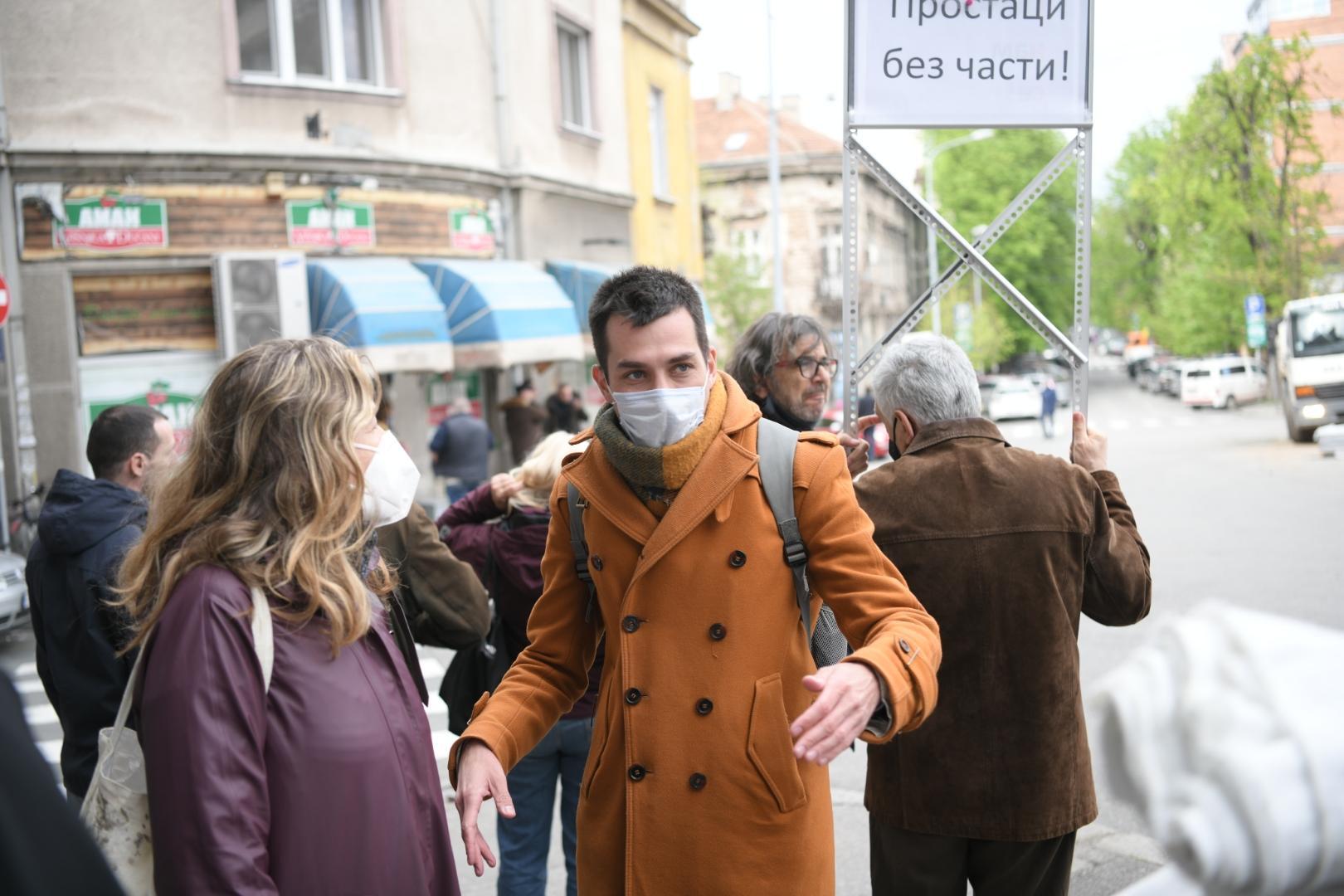 Dobrica Veselinović, Despota Stefana, ulica, radovi, protest, Ne davimo Beograd
