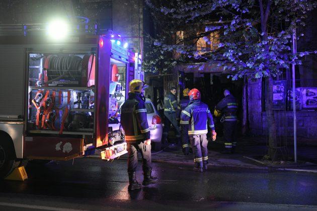 Pozar u Francuskoj ulici Francuska ulica vatrogasci