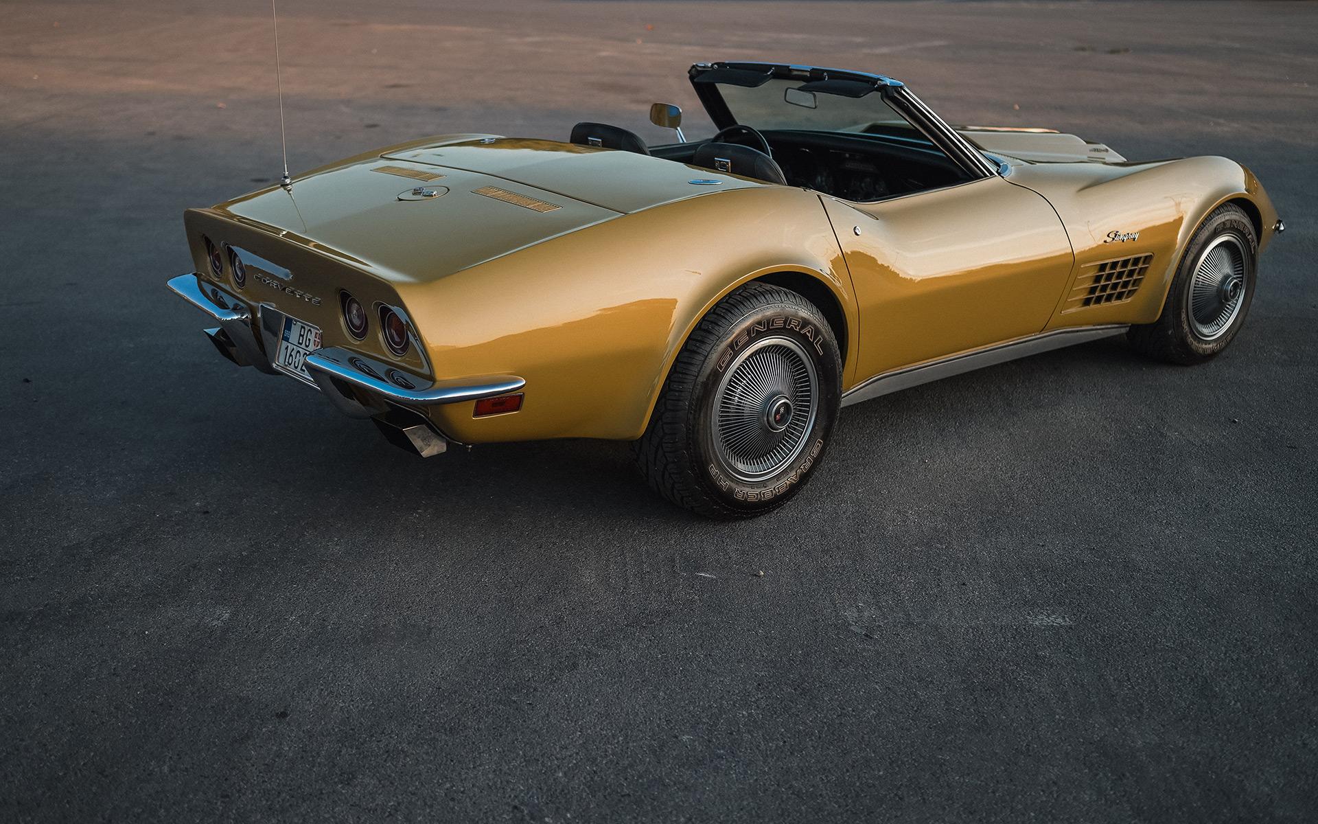 Chevrolet, Corvette, oldtimer, auto, automobil