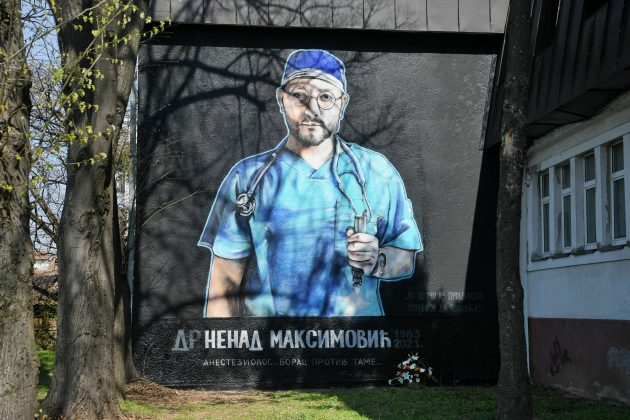 Mural Nenad Maksimovic