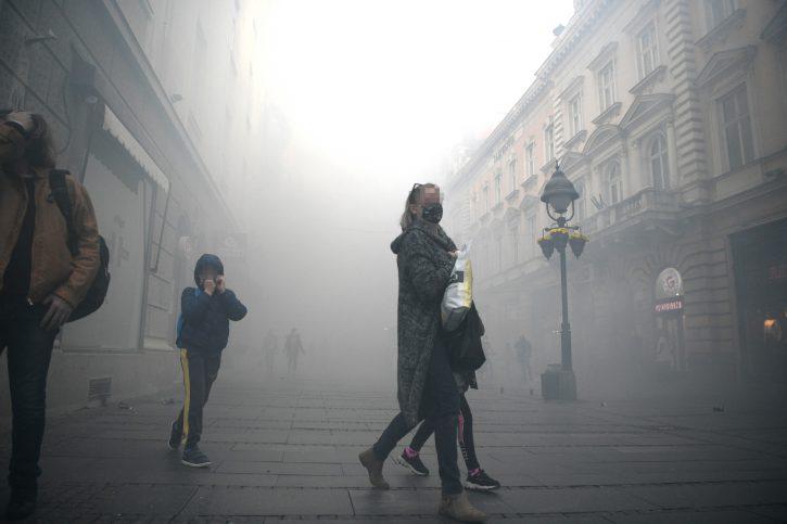 Dimna bomba, Knez Mihailova