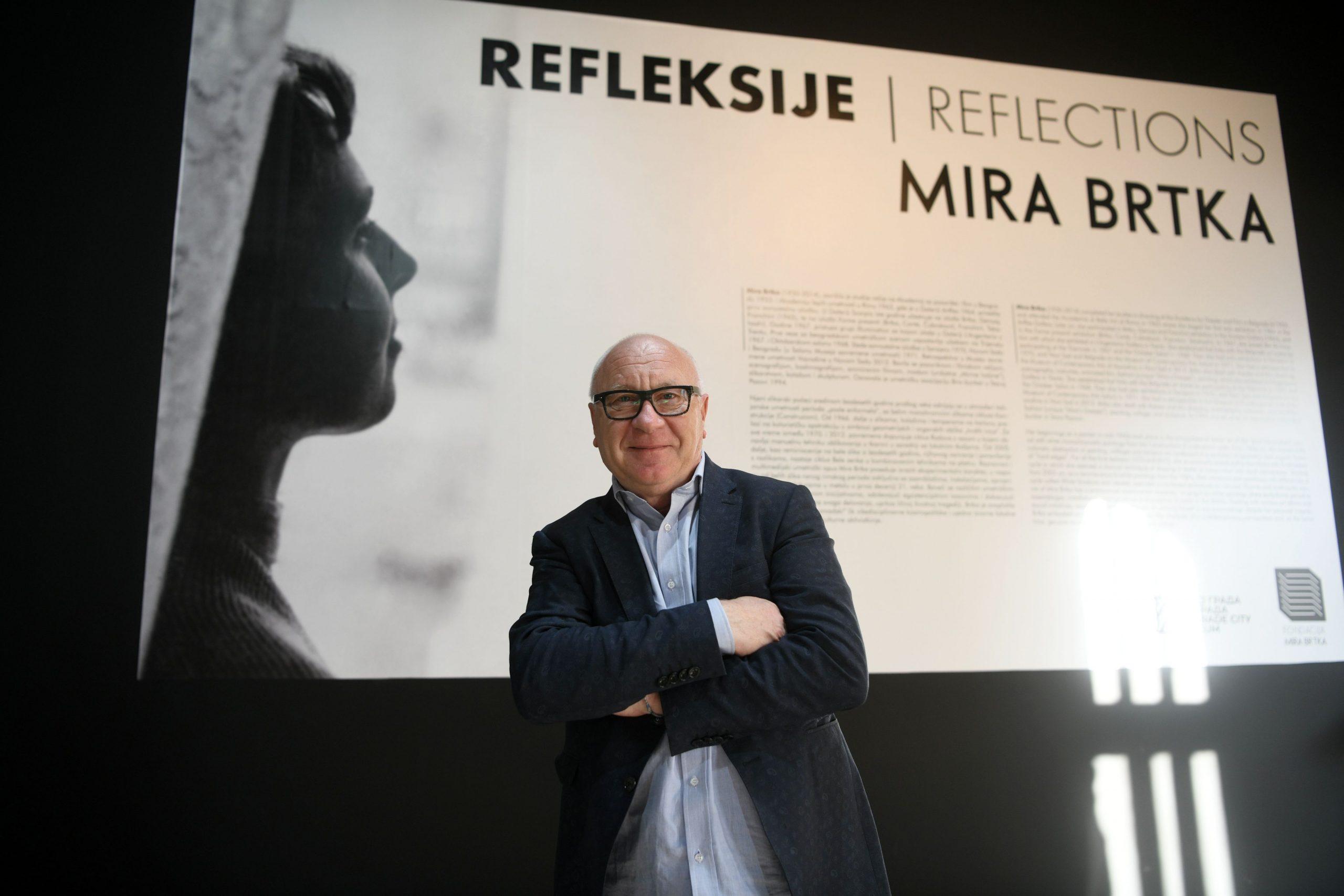 Izlozba Refleksije radova Mire Brtke