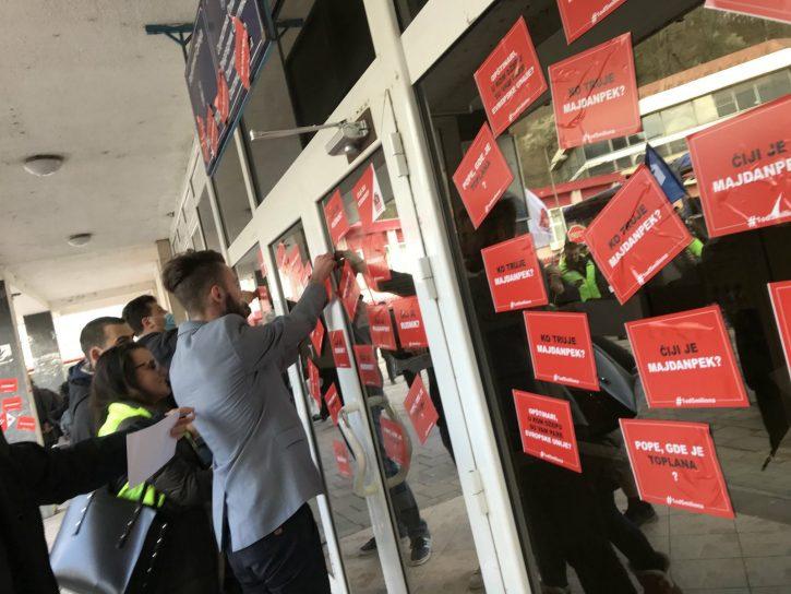 1 od 5 miliona, Majdanpek, protest