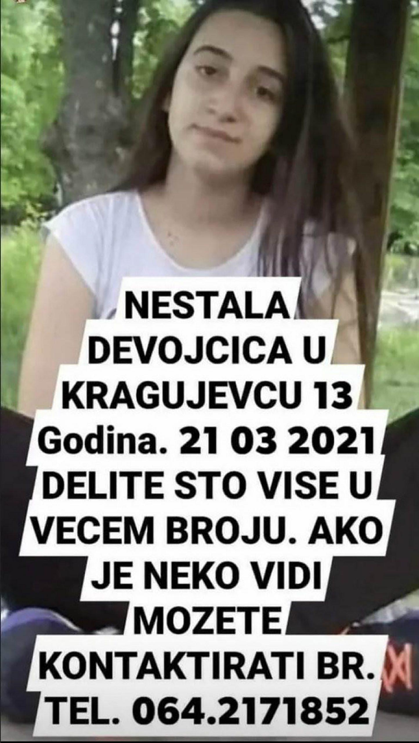 Nestala devojčica Ana Mirković