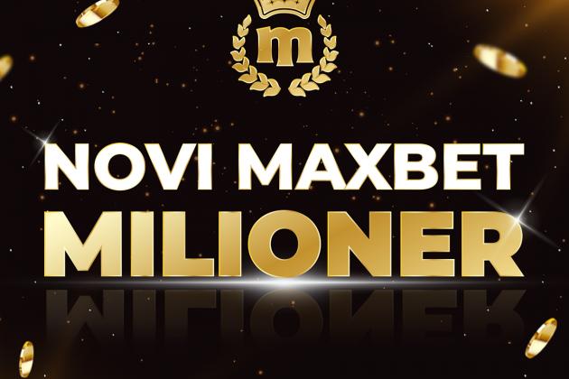 MaxBet milioner