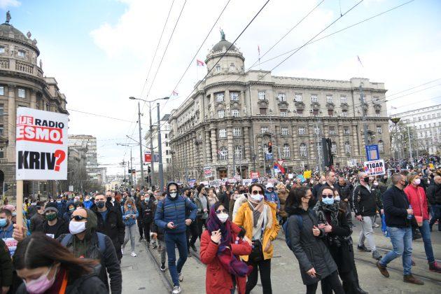 Protest frilensera
