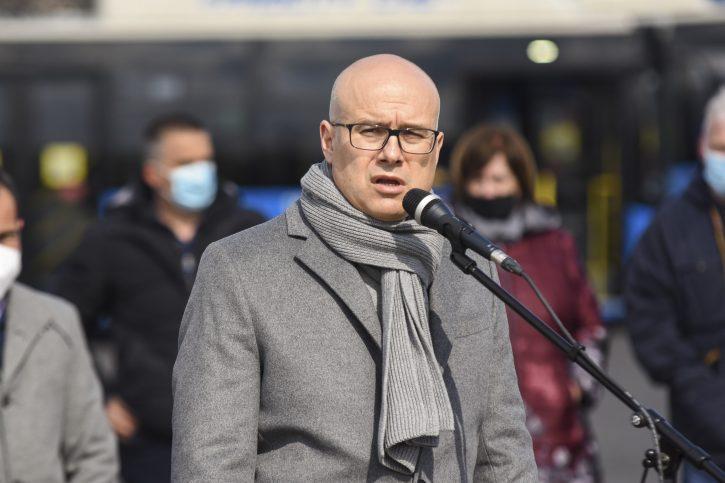 Novi Sad novi autobusi gradski prevoz Milos Vucevic