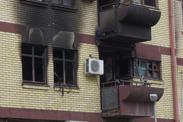 Novi Sad, požar