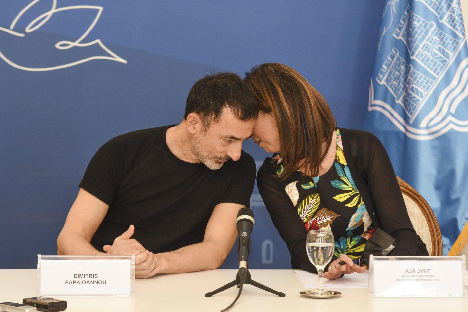 Novi Sad, Dimitris Papajoanu i Aja Jung Festival igre