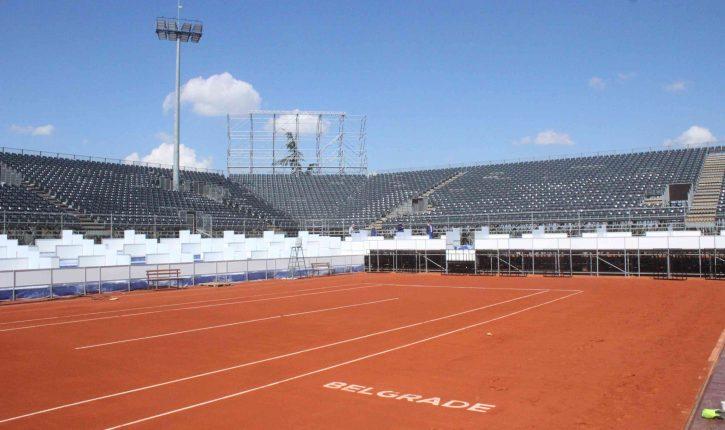 Pogledajte kako izgleda teren za Serbia Open