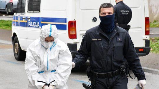 Privođenje majke teško povređene devojčice u Slavonskom Brodu