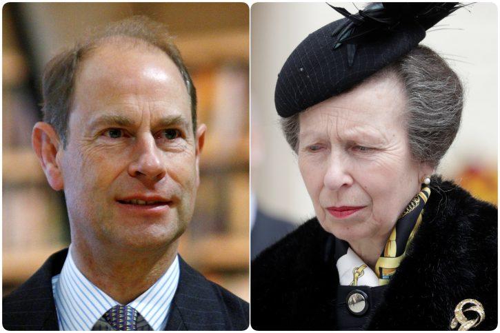 Princess Anne Prince Edward