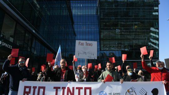 Rio Tinto protest