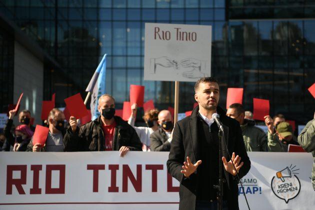 Protest Rio Tinto
