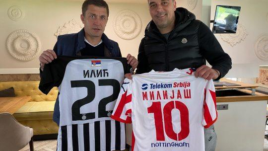 Milijaš Ilić kupuju dresove humanitarna akcija Gavrilo