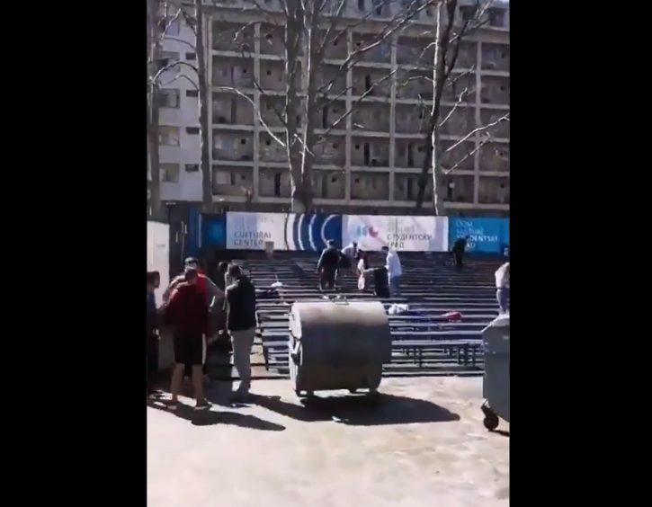 Studenti pokupili smeće
