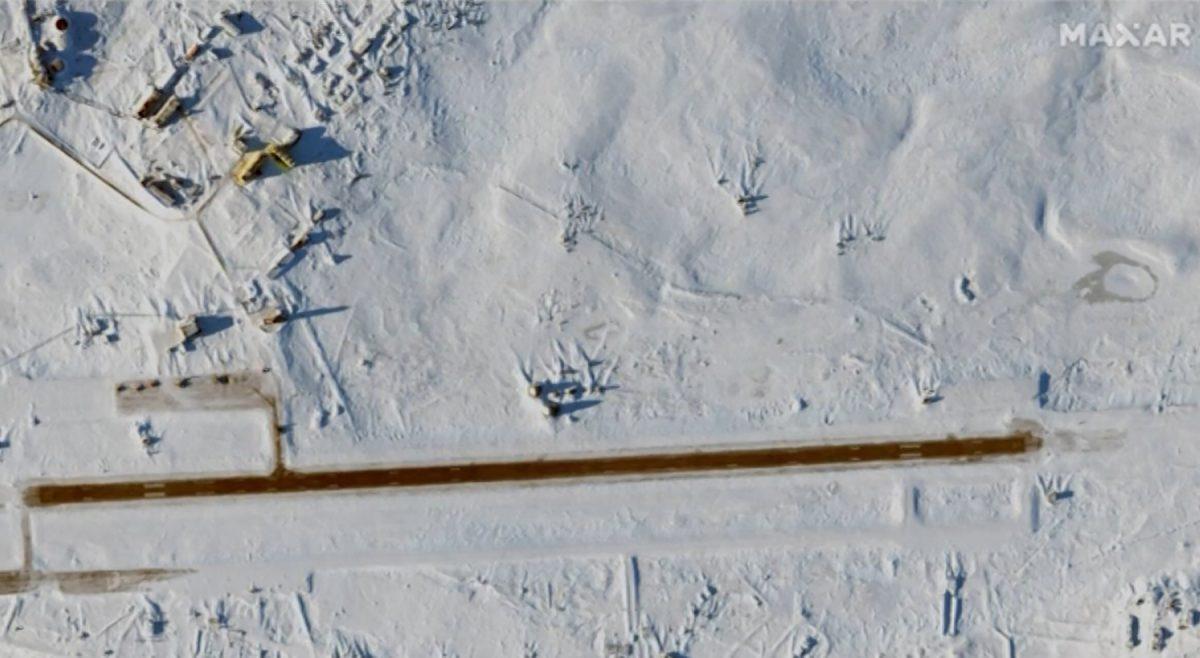 Rusija Arktik baza