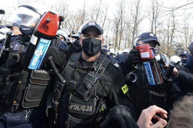 Protest Poljska