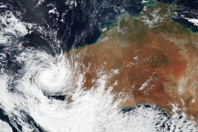 Australija, ciklon