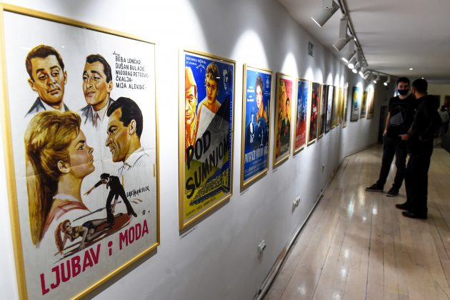 """Izložba """"Tragovi jednog vremena – Filmski plakat 1945-1970"""
