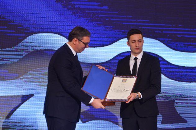 Aleksandar Vučić i Mladen Ilić