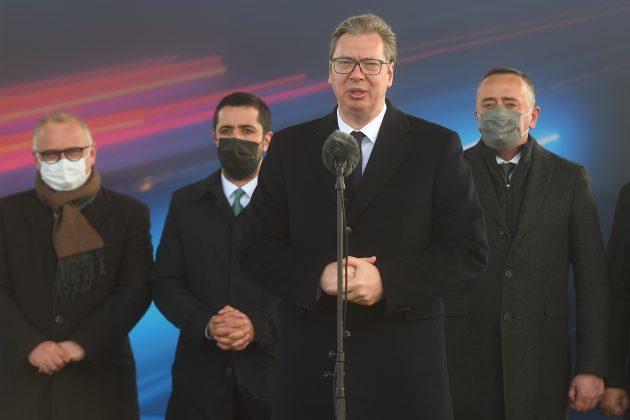Aleksandar Vucic petlja Batajnica