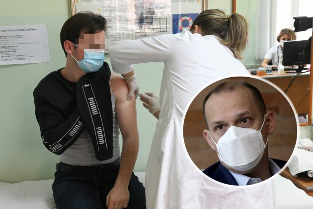 Zlatibor Lončar, vakcinacija