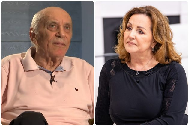 Predrag Živković Tozovac i Ana Bekuta