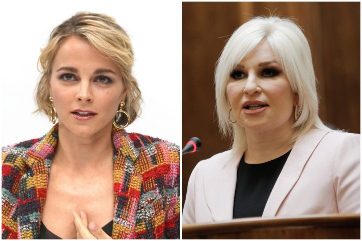 Bojana Novaković, Zorana Mihajlović
