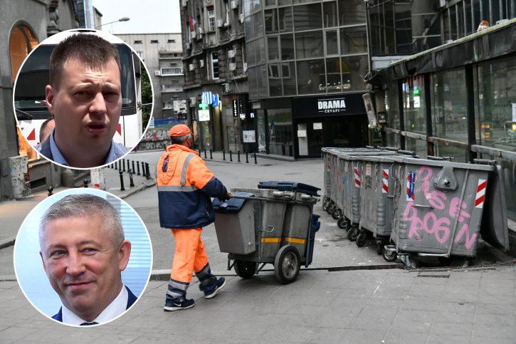 JKP Gradska čistoća, Marko Popadić, Slaviša Kokeza