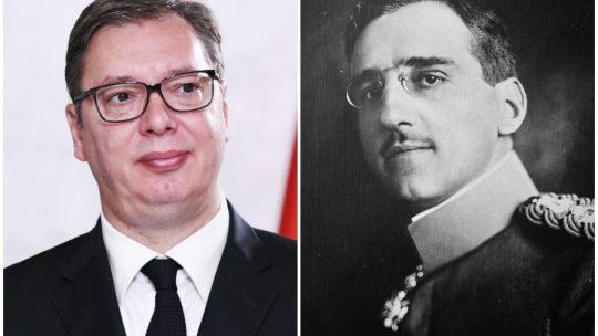 Aleksandar Vučić, Kralj Aleksandar kombo