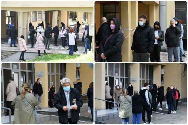 Kovid ambulanta Novi Beograd kombo