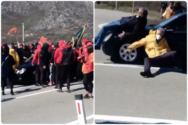 nikšić crna gora, protest