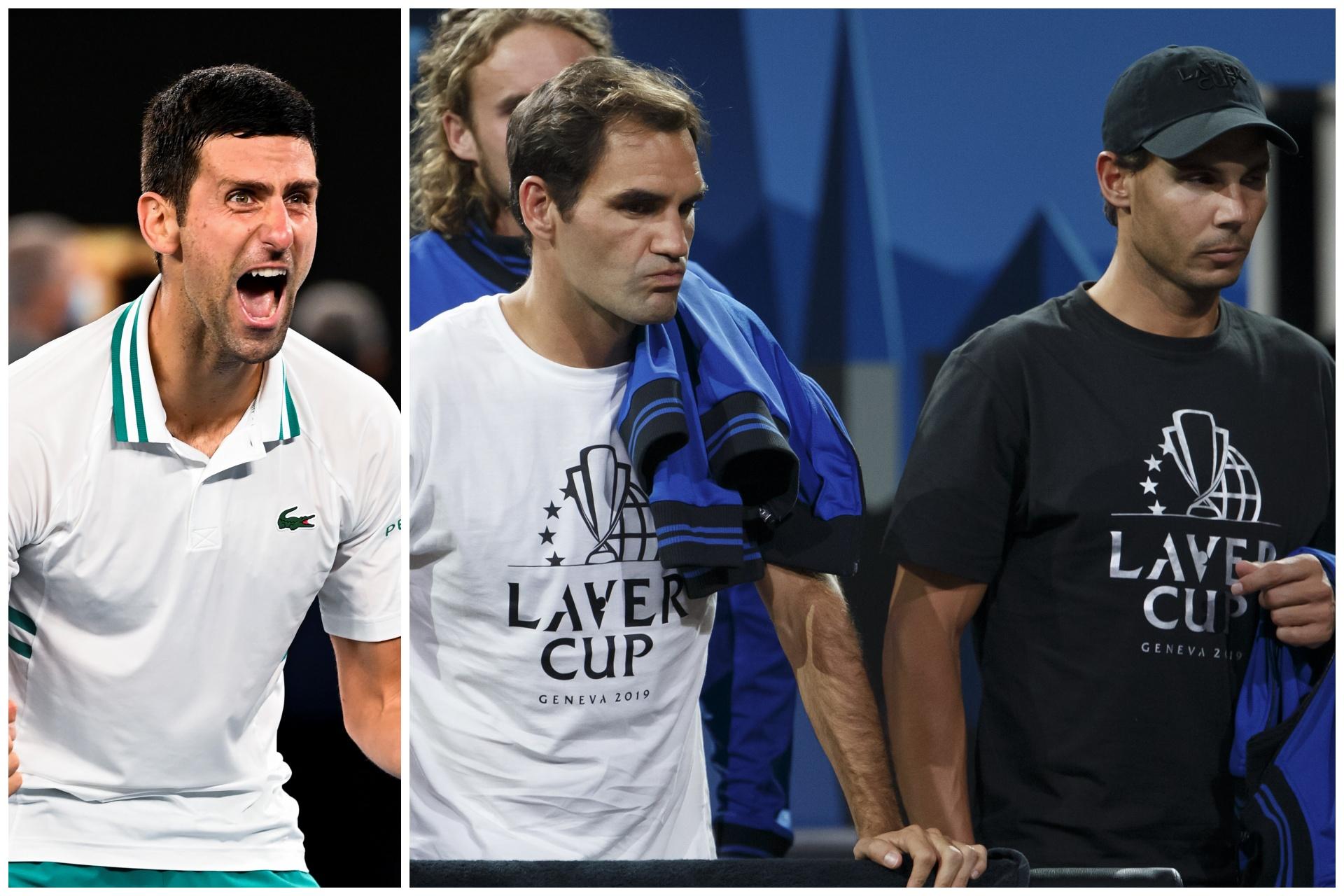 Novak Đoković, Rafael Nadal i Rodžer Federer