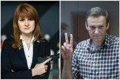 Marija Butina i Aleksej Navaljni