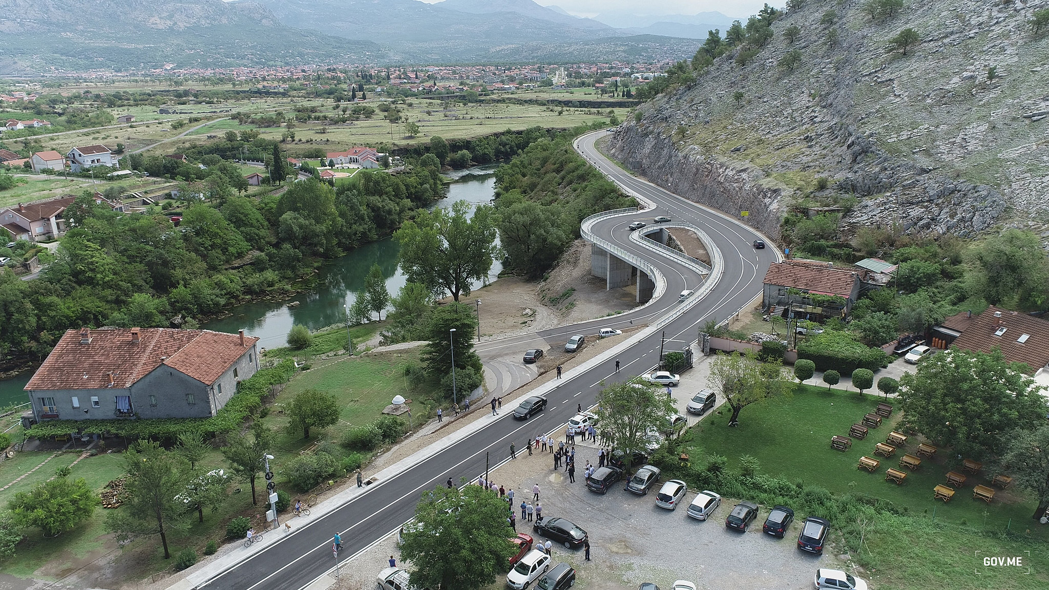 Crna Gora, zemljište, autoput