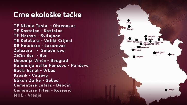 Mapa crne tacke Srbije