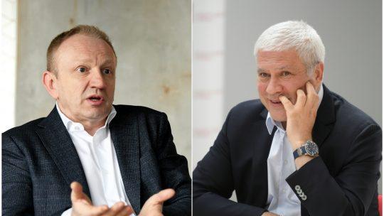 Dragan Djilas i Boris Tadic