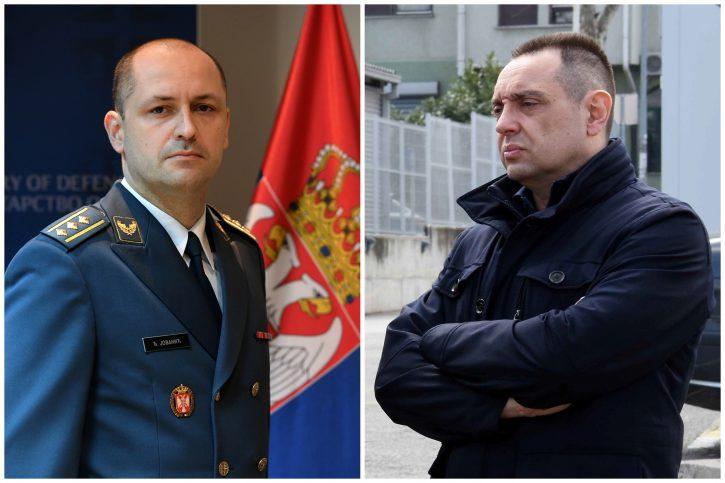 Đuro Jovanić, Djuro Jovanić, Aleksandar Vulin