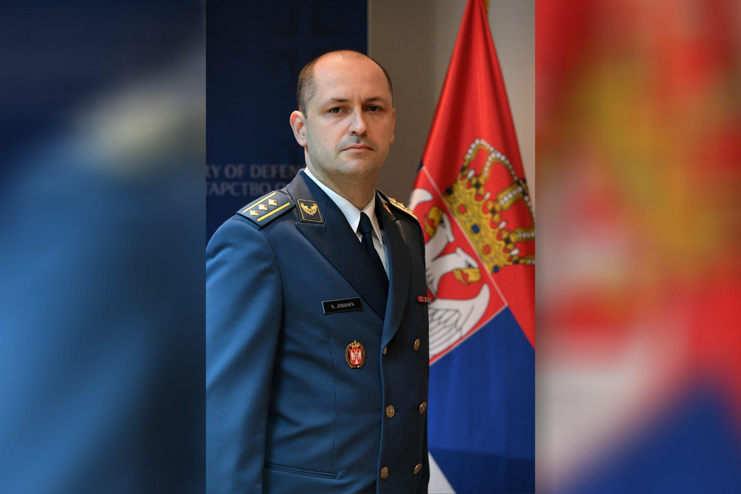 Brigadni general Đuro Jovanić