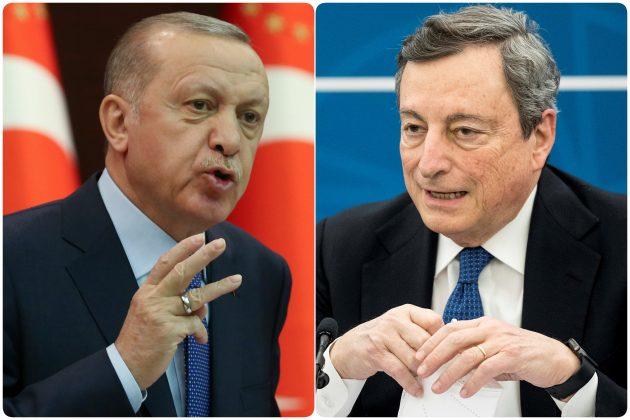 Redzep Tajip Ergodan i Mario Draghi