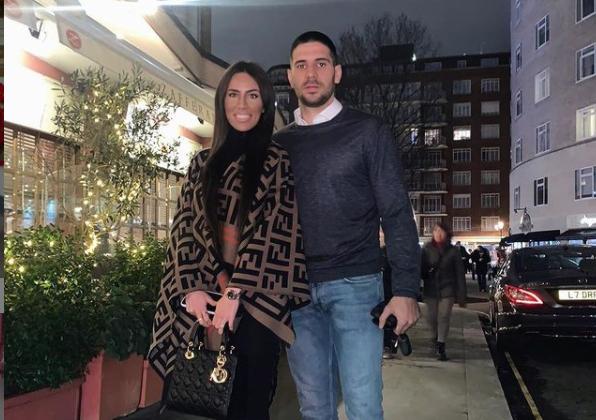 Aleksandar Mitrović i Kristina Janjić
