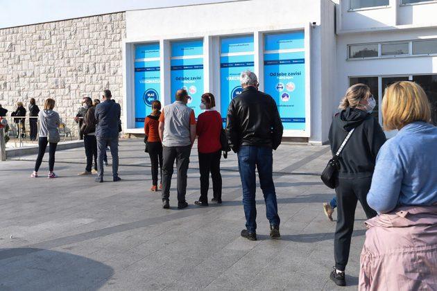 Podgorica, vakcinacija