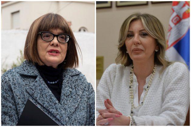 Maja Gojković, Jadranka Joksimović