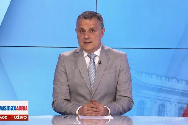 "Goran Dimitrijević u emisiji ""Pregled dana"" - NewsmaxAdria"