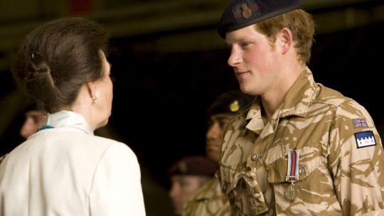 Princ Hari u vojsc
