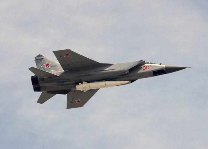 Rusija, avion, MIG-31
